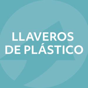 Llaveros de plástico