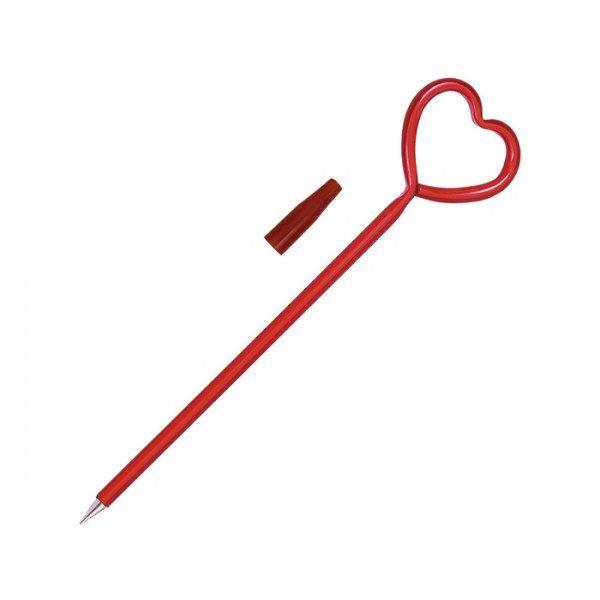 pluma de corazón