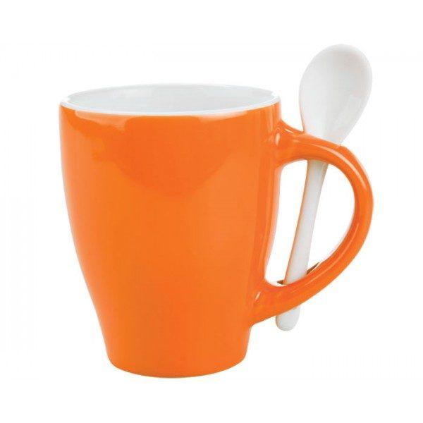 taza con cuchara