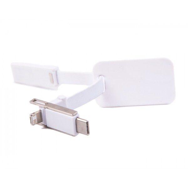 cable adaptador para corriente iphone android