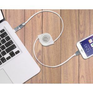 cable para cargar celular retractil