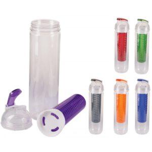 cilindro plastico transparente con barra mezcladora