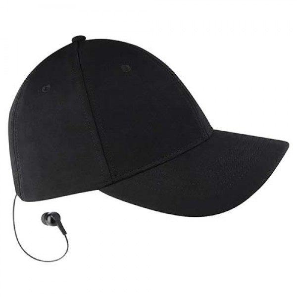 gorra con audifonos bluetooth