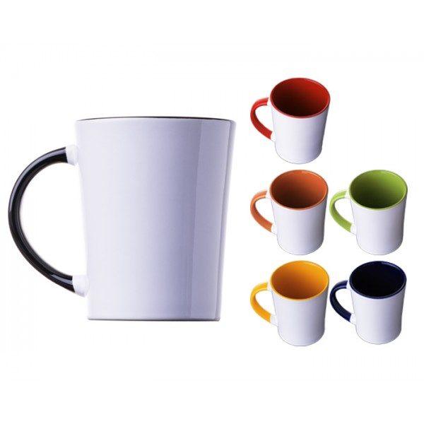 tarro ceramica bicolor