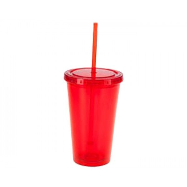 vaso térmico reusable de plastico