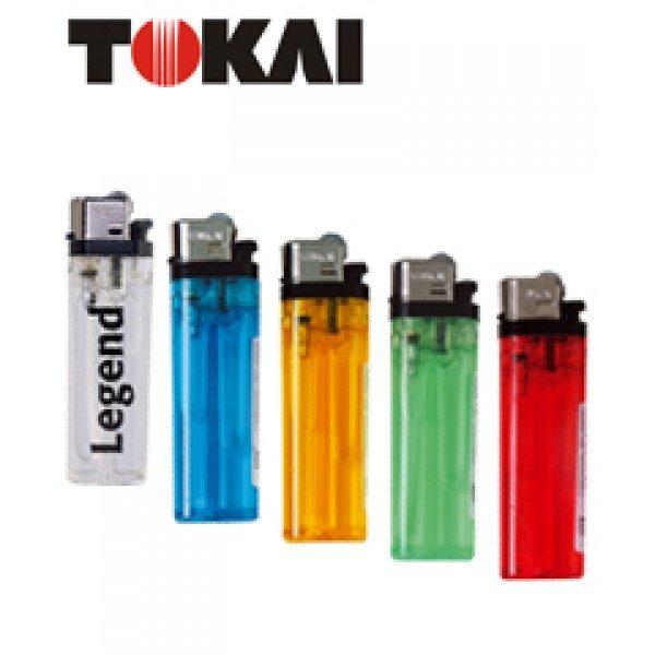 EncendedorTokai Transparente colores surtidos