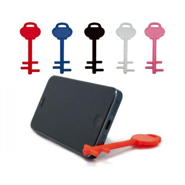 soporte para celular en forma de llave