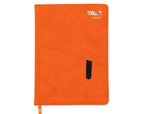 agenda-semanal-premium-2022-naranja